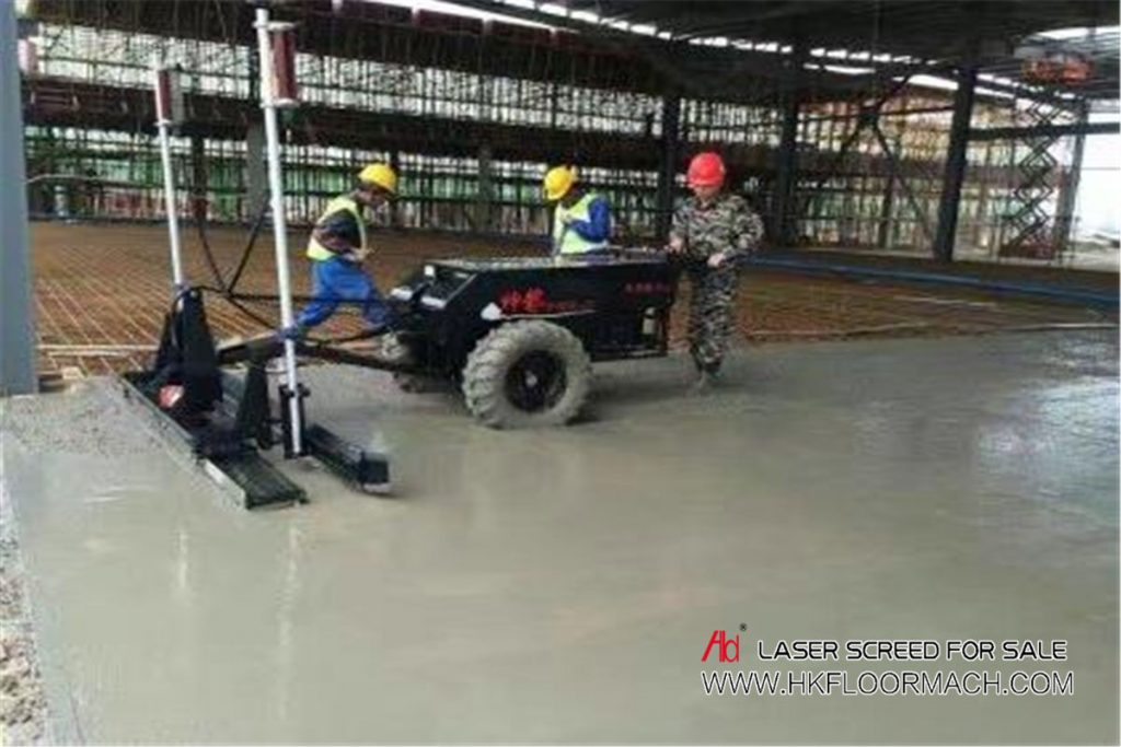 concrete laser screed machine